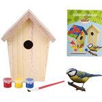 schilder je eigen vogelhuisje
