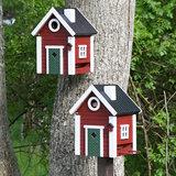 vogelhuisje in boom