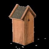 vogelhuisje vurenhout bitumen