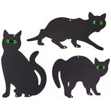 kattenverjager kattensilhouet tuinprikker kat