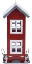 Vogel voederhuis flat rood