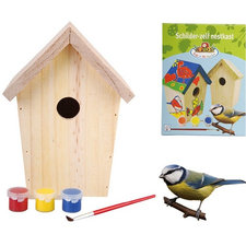 Schilder je eigen vogelhuisje DIY