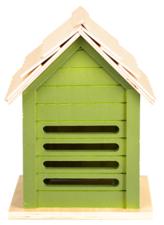 Lieveheersbeestjes huis lichtgroen