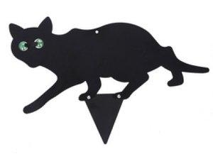 Tuinprikker zwarte kat - Kattenverjager 2