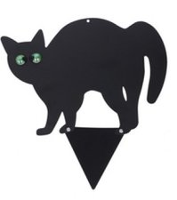 Tuinprikker zwarte kat - Kattenverjager 3