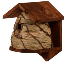 Vogelhuisje bijenkorf stijl