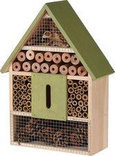 Insectenhotel cottage 30cm groen