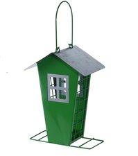 Voederhuis vogels retro groen 22cm