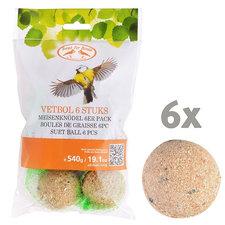 Vogelvoer 6 vetbollen