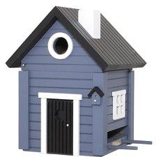 Vogelhuisje Wildlife Garden Multiholk blat hus (blauw)