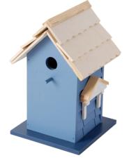 Vogelhuisje Scandinavisch blauw