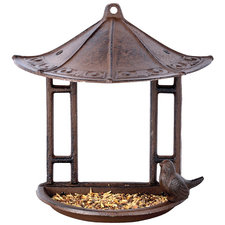 Vogelvoederhuis wand