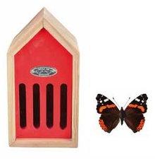 Vlinderhuis rood