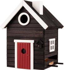 Vogelhuisje Wildlife Garden Multiholk svart hus