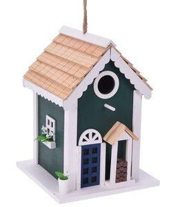 vogelhuis groen nestkast