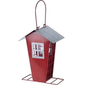 voederhuisje vogel retro rood