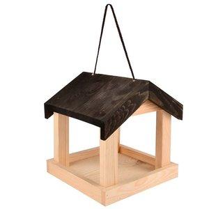 vogel voederhuisje hangend
