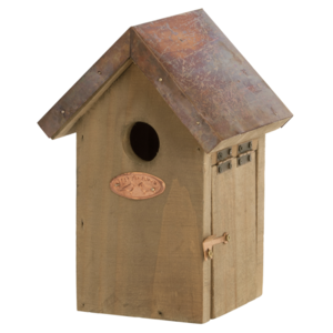 vogelhuisje nestkast koper