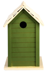 vogelhuisje groen nestkast