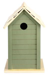 vogelhuisje oud groen
