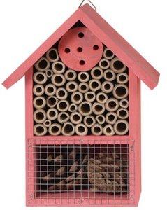 roze insectenhuis