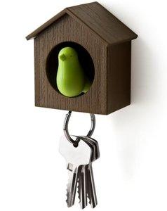qualy sleutelkastje vogelhuisje sleutelhanger